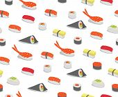 Sushi In Iconic Style