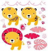 Safari_animals_pink.eps