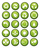Vector Environmental Icons And Design Elements
