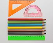 Rulers And Pencils