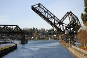 Ballard Locks Drawbridge