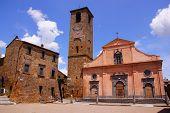 Italian village square
