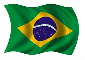 Federative Republic Of Brazil Flag