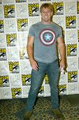 SAN DIEGO, CA - JULY 20: Actor Cody Deal arrives at the 2013 Comic Con press room at the Hilton San
