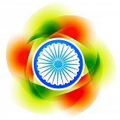 vector colorful indian background design