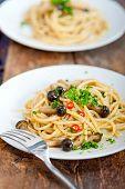 Italian Pasta And Mushroom Sauce