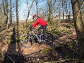 State Of The Art Electric Powered Mountain Bike