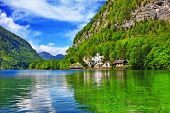 pictorial Austrian Alps and lakes - Hallstatt