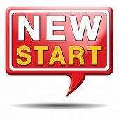 foto of fresh start  - start new life road to fresh begin new start - JPG