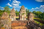 Prasat Pre Roup temple in Angkor wat complex, near Siem Reap, Cambodia.