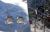 Modern Ropeway At Hill Chopok - Low Tatras, Slovakia