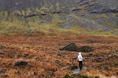 Photographer in Highlands of Scotland, Europe