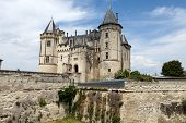 picture of anjou  - Castle of Saumur in Loire Valley France - JPG