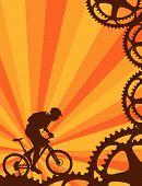 A mountain bike wallpaper.