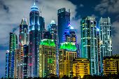 stock photo of marina  - DUBAI UAE  - JPG