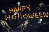 Holloween Candy Graveyard