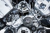 stock photo of alloy  - Car Engine  - JPG