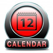 calendar time schedule event programation week or month planning next or following day schedule conc