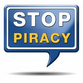 stop piracy and illegal copying copyright and intellectual property protection protect copy of trademark brand