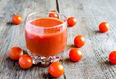 Tomato Juice With Cherry Tomatoes