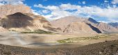 View From Zanskar Valley - Zangla Village - Ladakh - Jammu And Kashmir - India