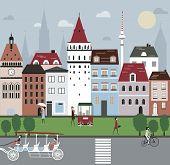 City Illustration.