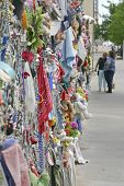 Looking At The Oklahoma Bombing Memorial Memory Fence
