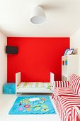 interior of a house, nice children's bedroom