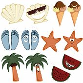 Classic summer icons