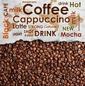 Sorts Of Coffee Background