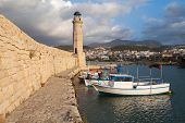Lighthouse  In Rethymno, Crete