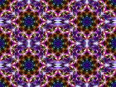 Geometric Abstract Ornament. Kaleidoscope.       A-0144.