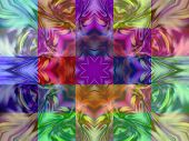 Geometric Abstract Ornament. Kaleidoscope.       A-0145.