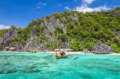 Beach in Coron Palawan Philippines