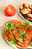 Baked Eggplant With Tomatoes
