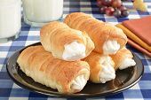 Cream Horn Pastries