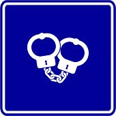 handcuffs sign