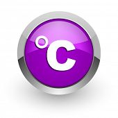 celsius pink glossy web icon