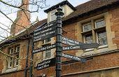 Abingdon Signpost, Oxfordshire