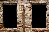 Black Zones In Brick Wall