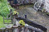 Barbecue Place In Granite  Castle