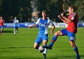MOSCOW, RUSSIA - JULY 22, 2014: Match Dynamo, Moscow - CSKA, Moscow during the Lev Yashin VTB Cup, t