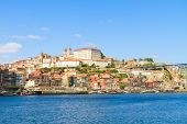 hill with old town of Porto, Portugal