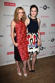 LOS ANGELES - JUL 22:  Laura Carmichael, Michelle Dockery at the