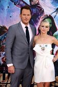 LOS ANGELES - JUL 21:  Chris Pratt, Anna Faris at the