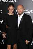 LOS ANGELES - JUL 23:  Barbara Palvin, Aksel Hennie at the