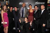 LOS ANGELES - JUL 23:  Hercules Cast at the