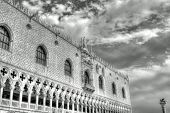 Ducal Palace On The Piazza San Marco In Venice