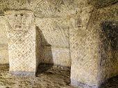 Ancient Tomb In Tierradentro,colombia,