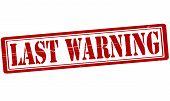 Last Warning